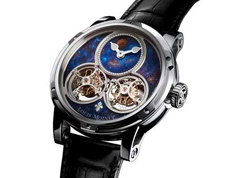 Interstellar Luxury Watches - This Louis Moinet Watch Lets You Wear the Universe On Your Wrist