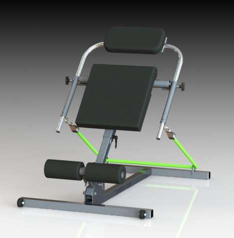 Accessible Ab Workout Machines - This Machine Targets the Core for Health and Rehabilitation
