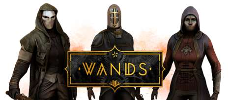 Wizardly VR Shooting Games - The 'Wands' Game Lets Players Battle with Magic Spells Online