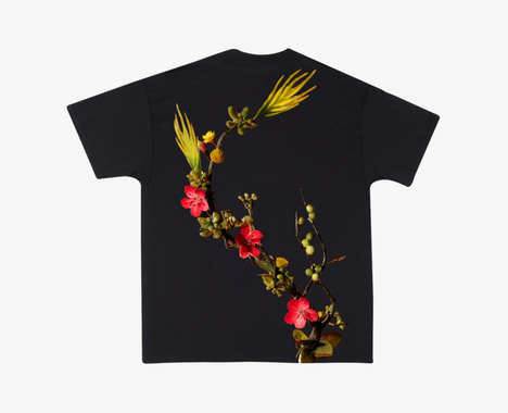 Floral Music Video Apparel