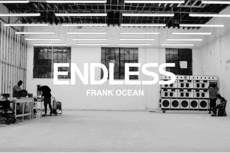 Soulful Visual Albums - Frank Ocean Drops His Much Awaited Visual Album 'Endless'