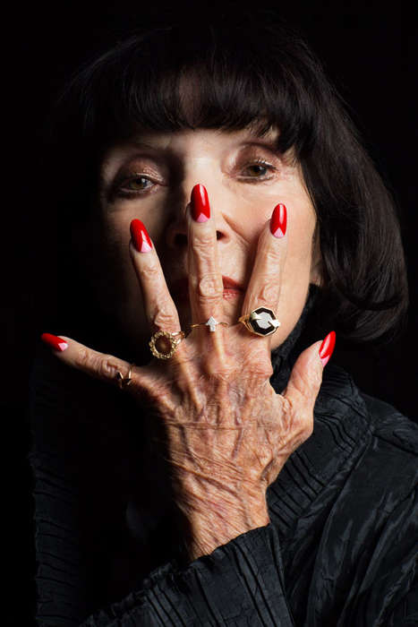 Elderly Hand Model Lookbooks - 'Magic Hands' Highlights Karen Walker's Jewelry on Older Women