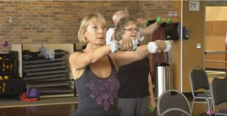 Boomer-Specific Exercise Classes - 24 Hour Fitness' Active Aging Classes Help Consumers Stay Fit