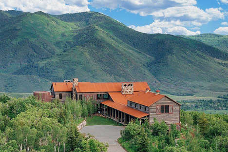 Luxurious Mountainside Ranches - This Ranch Combines Luxury with Natural Elements