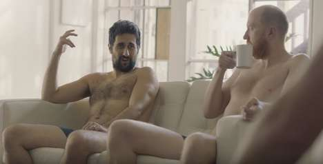 Dad-Centered Boxer Brief Ads - Bonds Shows Men Humorously Reminiscing on Their Pre-Baby Bodies