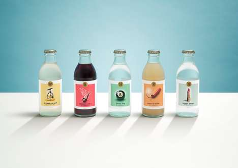 Apothecary-Inspired Bottles - These Drinks are Inspired by Tonics and Elixirs Made by Apothecaries
