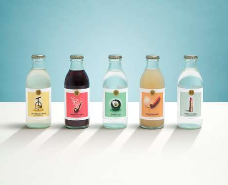 Apothecary-Inspired Bottles