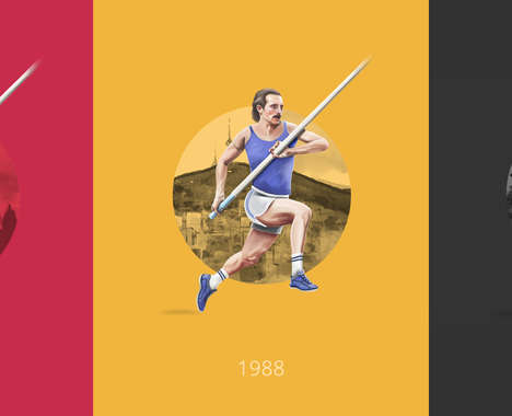 Evolutionary Olympic Graphics