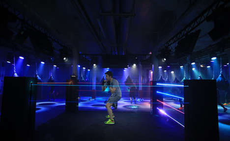Multi-Sensory Workout Clubs - Nike's 'Unlimited You' Offers a Unique and Immersive Experience