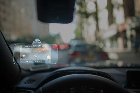 Transparent Dashboard Displays - 'Hudly' is an Aftermarket Device That Adds Tech to Any Vehicle