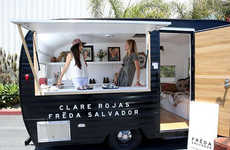Pop-Up Shoe Store Trailers - This Mobile Shoe Store Offers a Unique Shopping Experience