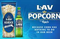 Lav Created a Popcorn Beer to Celebrate a Change in Ingredients