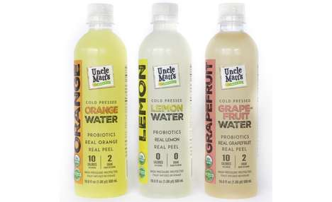 Probiotic Citrus Water - Uncle Matt's Blends Cold-Pressed Citrus Juice with Water