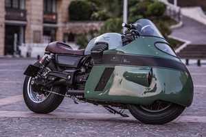 This Custom Motorbike is Inspired By Old-School Moto Guzzi Bikes