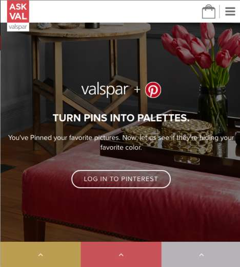 Interactive Paint Selectors - Valspar's 'Ask Val' Offers Resources for Choosing a Paint Color