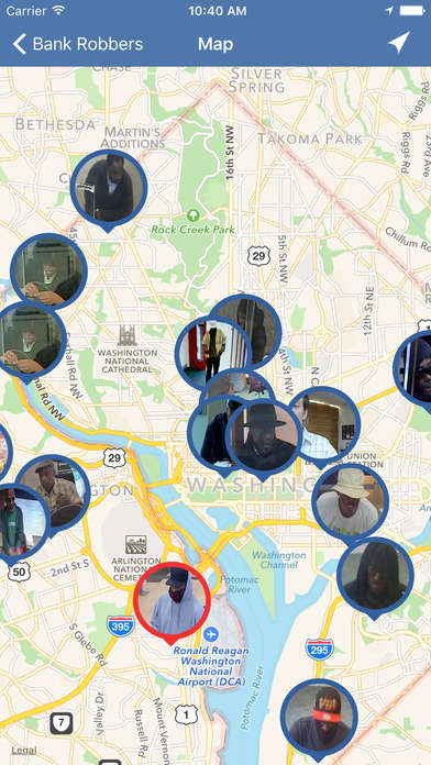 Robbery-Alerting Apps - The 'Bank Robbers' App Informs You Of Financial Heists In Your Area