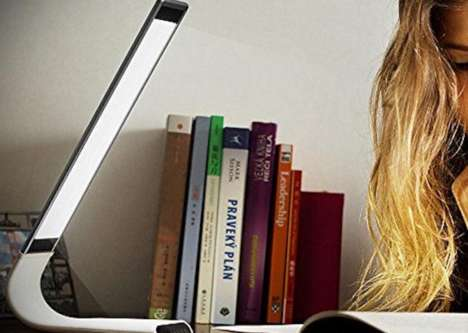 Dimmable Reading Lamps - The Joly Joy Reading Lamp Offers Flexible Lighting Angles
