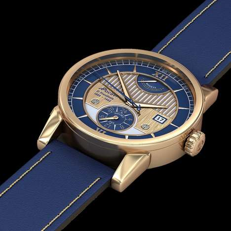 Statesman-Inspired Watch Collections - These Automatic Watches are Inspired By Abraham Lincoln