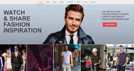 Men's Celebrity Style Apps - The 'Looklive' App Recommends Men's Clothing Based on Celebrities