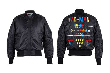 Retro Arcade Apparel - BLUE HEROES Created a Collection of Pac-Man Clothing and Accessories