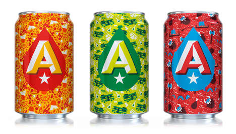 Saturated Seasonal Beers - This Beers Come in Vibrant Patterns That Reflect Their Purpose