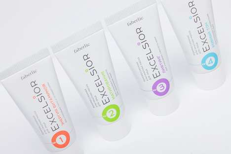 Chromatic Skincare Branding - These Oxygen Face Masks are All Activated with One Spray-On Ingredient