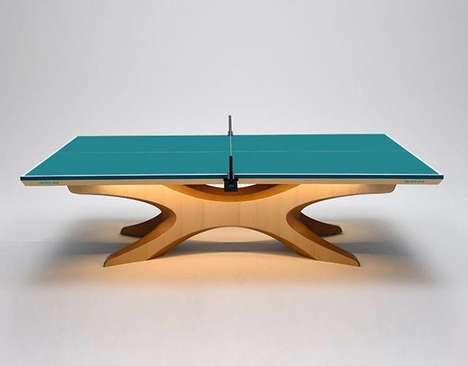 Olympic Ping-Pong Tables - These Tables Have a Design That Makes Them Perfect for the World Stage