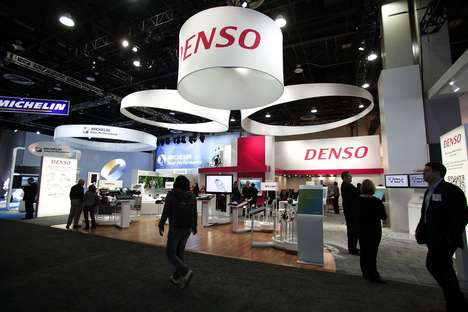Fatigue-Fighting Car ACs - Denso's 'Driver Status Monitor' will Wake Drowsy Drivers Using the AC
