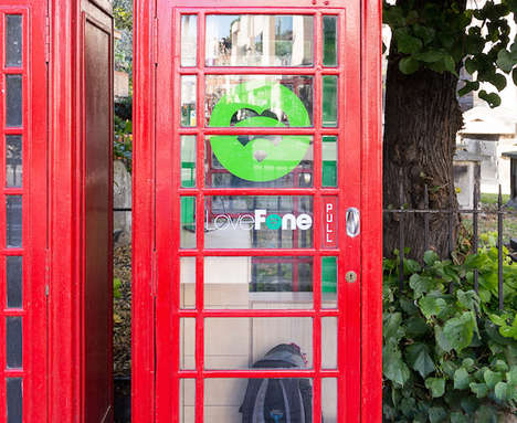 Tiny Phone Repair Booths - Lovefone's Repair Shops are Inside Iconic London Phone Booths