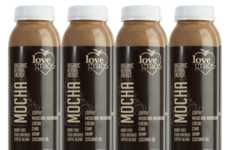 Mushroom-Infused Mocha Drinks