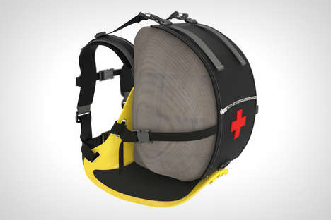 Portable Rescue Backpacks - This Backpack Could Be Life-Saving for Those Who Partake in Risky Sports
