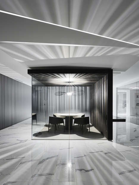 Understated Office Spaces - This Sophisticated Office Space Has a Minimal but Luxurious Aesthetic