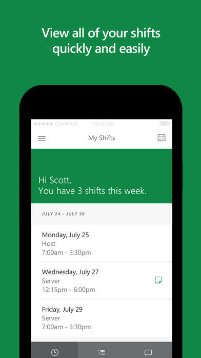 Shift Worker Chat Apps - 'Project Sonoma' Helps Shift Workers Coordinate with Each Other