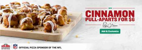 Shareable Cinnamon Rolls - Papa John's Cinnamon Pull-Aparts are a Family-Friendly Dessert Option
