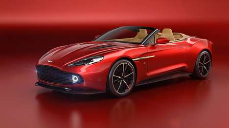 Exposed Carbon Fiber Cars - The Open-Topped Vanquish Zagato Volante Moves At Stunning Speeds