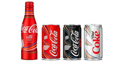 Olympic Soda Themes - These Limited Edition Cans Are Inspired by Athletic Milestones