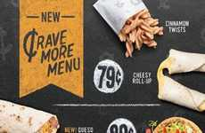 Ultra-Affordable Fast Food Menus