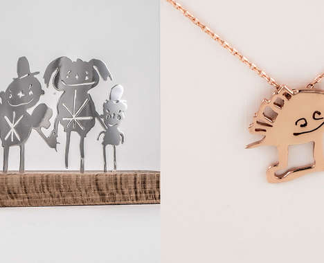 Child Artwork Jewelry