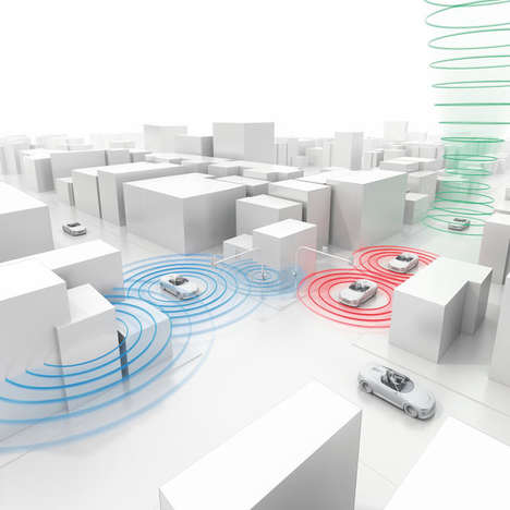 Traffic-Connected Cars - The Audi 2017 Line Up Syncs to City Road Networks For Seamless Driving