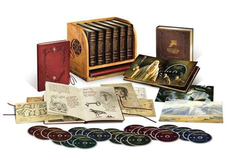 Fantasy Film Box Sets - The 'Middle-earth Limited Collectors Edition' is for Hardcore Tolkien Fans