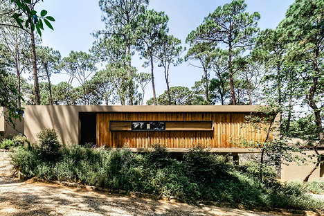 Sloped Conservation Homes - The Cinco Casas Houses Limit Disruption To The Natural Landscape