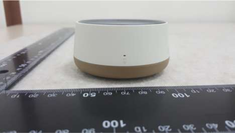 Speech-Recognition Devices - The Samsung Scoop Is a Wearable Connected Speaker For The Home