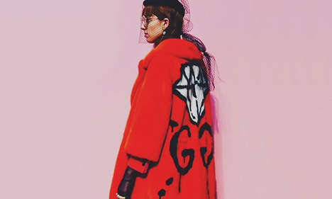 Cartoon Streetwear Apparel - The GucciGhost Collection Blends High Fashion With Street Style