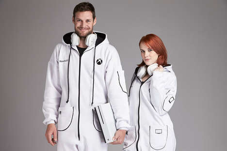 Video Game Console Onesies - The Xbox Onesie is Perfect for Gaming Marathons