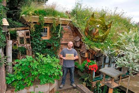 Recycled Garden Sheds - The West Wing Structure Won the Annual 'Shed Of the Year' Prize