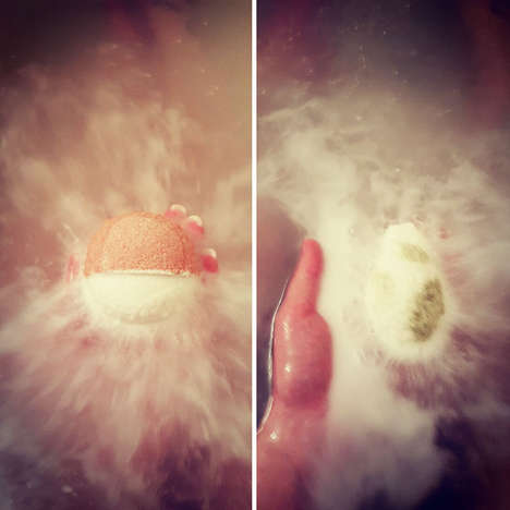 Anime Bath Bombs - These Effervescent Shower Products Conceal a Tiny Pokemon Toy Inside
