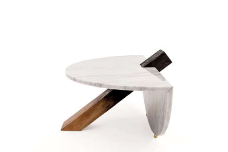 Abstract Marble Tables - These Tables Take Inspiration from Japanese Design
