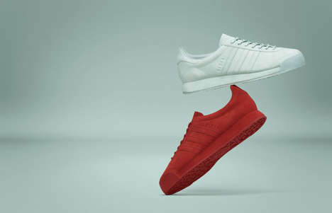 Classic Monochrome Sneakers - Adidas Has Released New Colors in the Brand's Samoa Silhouette