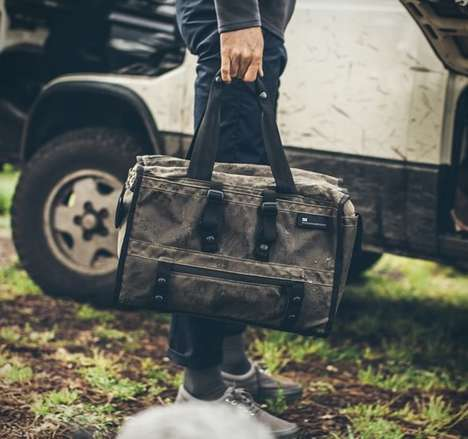 Rugged Transport Totes - The 'Transit Bag' Provides Versatile Luggage That Withstands Constant Use