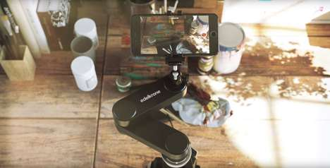 Pivoting Camera Accessories - The Edelkrone Wing Creates Smooth Camera Movements